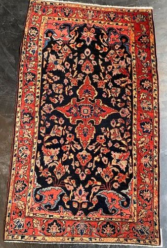 Semi-Antique Sarouk Persian Carpet