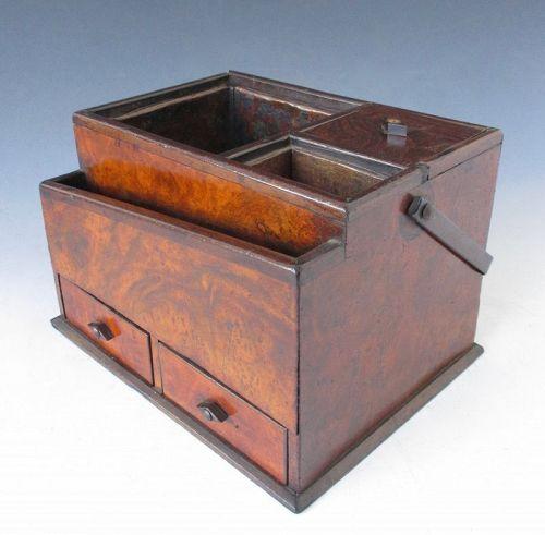 Japanese Antique Tobako-bon (Tobacco Box)