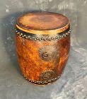 Antique Japanese Taiko Drum Large Keyaki Body Rich Deep Sound