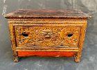 Antique Tibetan Portable Altar Table for High Lama