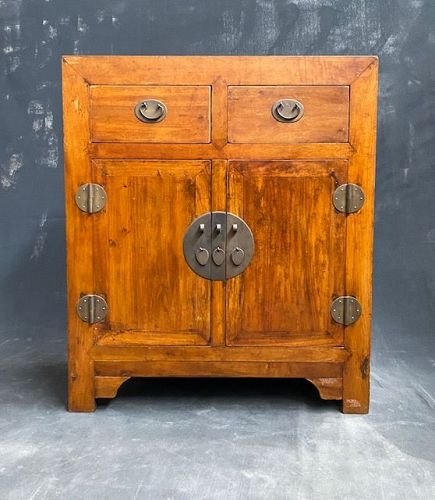 Antique Chinese Country Side Chest 19th Century Ming Style
