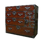 Japanese Isho Tansu (clothing chest)