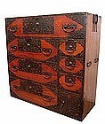 Rare and Beautiful Japanese Antique Sado Island Tansu