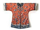 Antique Chinese Silk Embroidered Coat