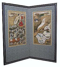 Korean Antique screen