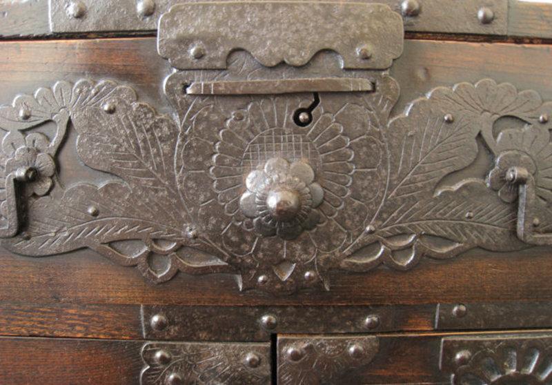 Japanese Antique Fune Tansu (Ship Safe)