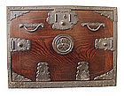 Rare Japanese Antique Fune Tansu (ship safe box)