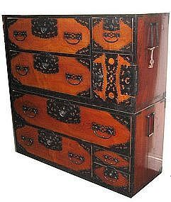 Japanese Antique Sado Island Tansu