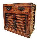 Japanese Antique Choba Tansu (merchant's chest) Rare