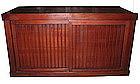 Japanese Antique Slat Futon Tansu Section