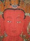 Huge Tibetan Antique Thangka of Amitayus