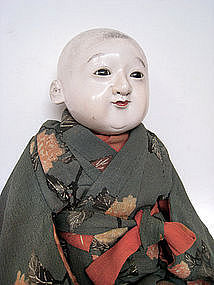 Japanese Antique Character Boy Doll