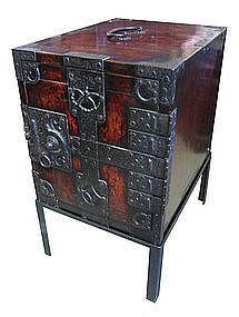 Antique Japanese Fune Tansu  (Ship box)