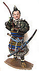 Japanese Antique Samurai Warrior Doll