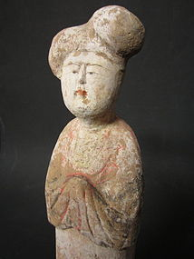 Chinese Tang Dynasty Fat Lady Pottery